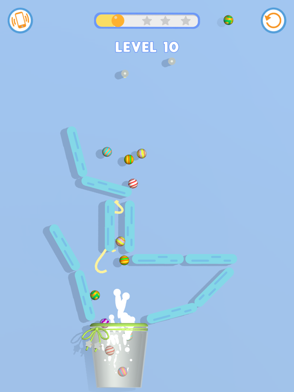 Rope & Ball: Cut it! screenshot 8