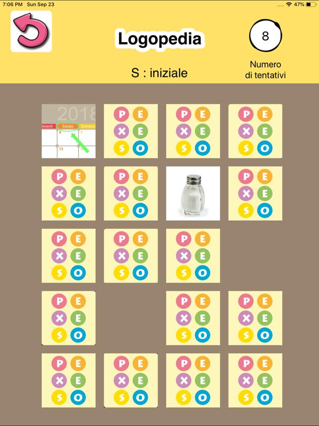 APP Logopedia : esercizi Screenshot