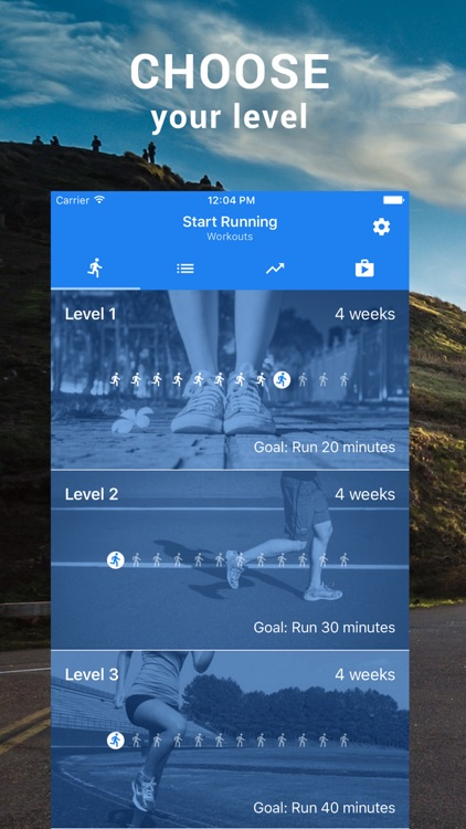 Start Running  Couch to 5k by Axiom Mobile LLC