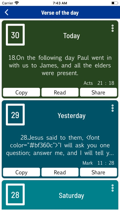 Almeida Holy Bible (JFA) screenshot-9