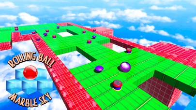 Rolling Ball:Marble Sky