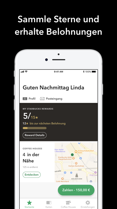 Screenshot for Starbucks Deutschland in Germany App Store