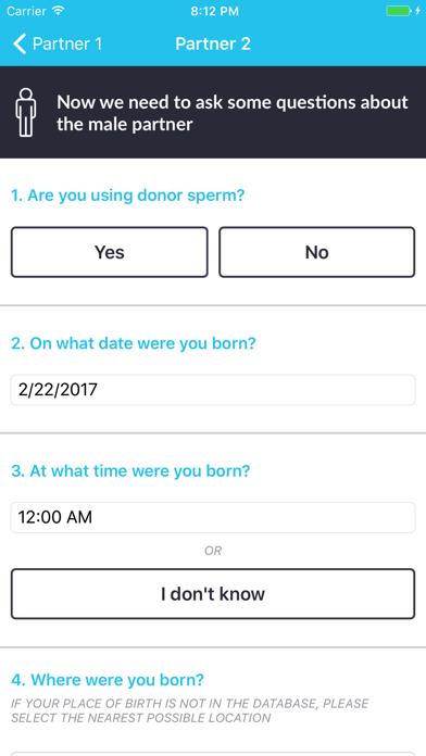 Fertility Astrology screenshot four