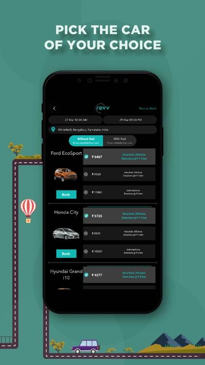 Revv - Self Drive Car Rental screenshot-3