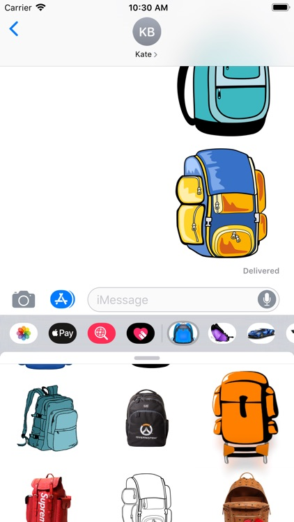 Backpacks Stickers