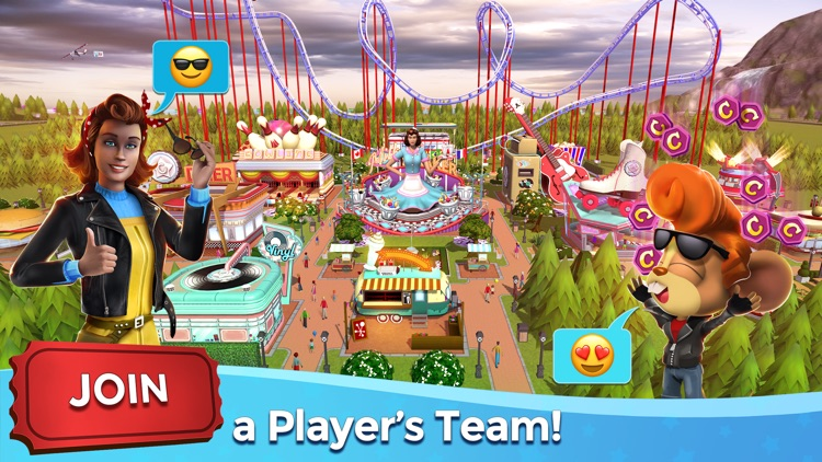 RollerCoaster Tycoon® Touch™ screenshot-5