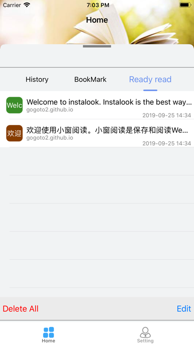 instalook-collect,read later screenshot 2
