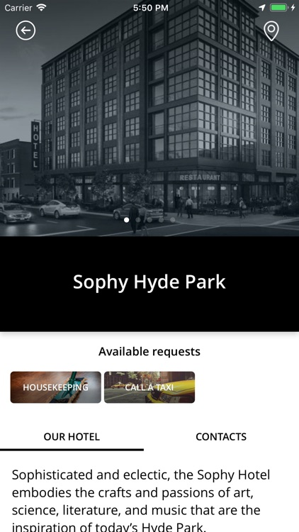 Sophy Hyde Park Hotel screenshot-1
