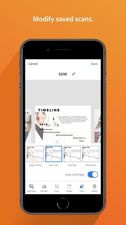 Adobe Scan: Document Scanner screenshot-7
