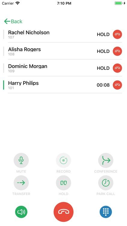 Zultys Mobile Communicator screenshot-4