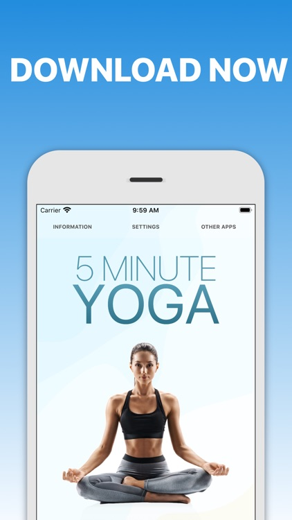 5 Minute Yoga Workouts screenshot-4
