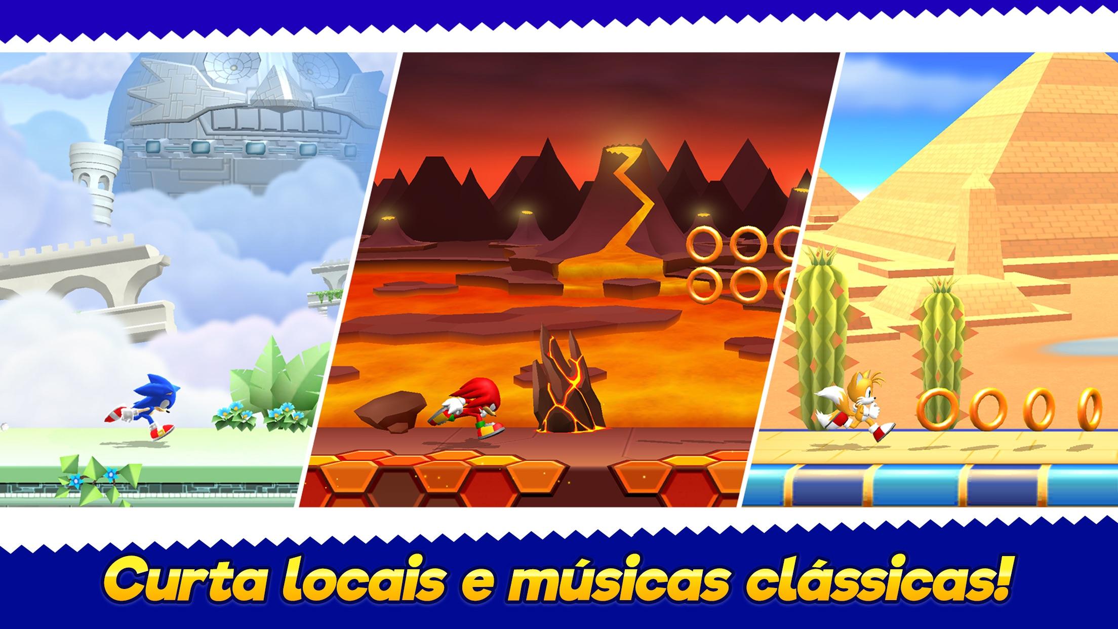 Screenshot do app Sonic Runners Adventure