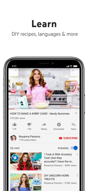 YouTube: Watch, Listen, Stream on the App Store