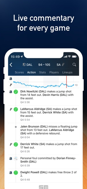 NBA Live: Basketball scores on the App Store