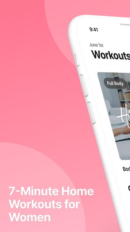 WeBurn: Women Fitness At Home screenshot-0