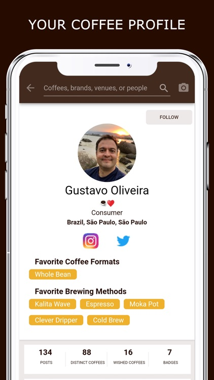 Coffeely - Your Coffee App