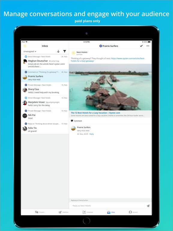 Hootsuite - Social Media Tools Screenshot 1