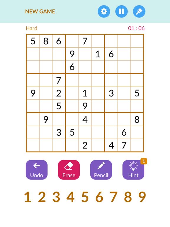 Sudoku1000 -Number puzzle game screenshot 6