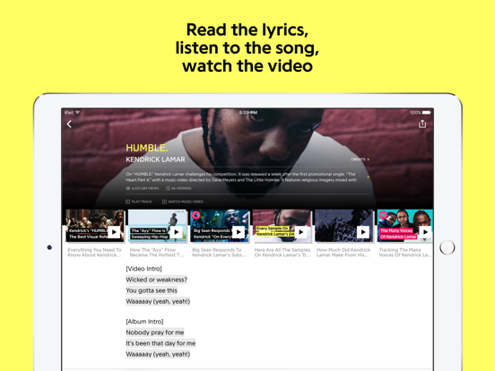 Genius: Song Lyrics & More screenshot