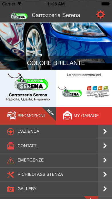 Screenshot of Serena Carrozzeria1