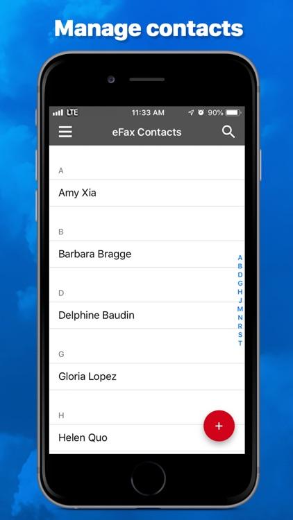 eFax App–Send Fax from iPhone screenshot-4