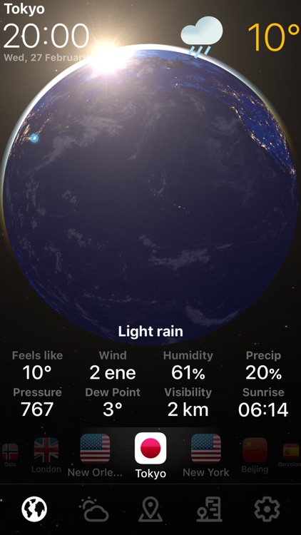 WEATHER NOW °
