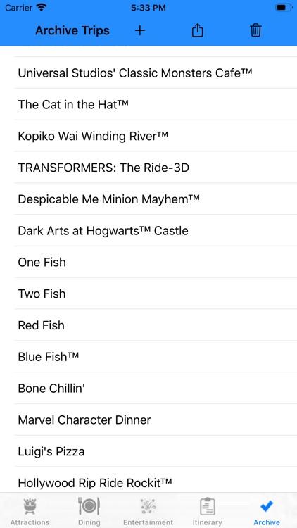 Theme Park Checklist: Orlando screenshot-4
