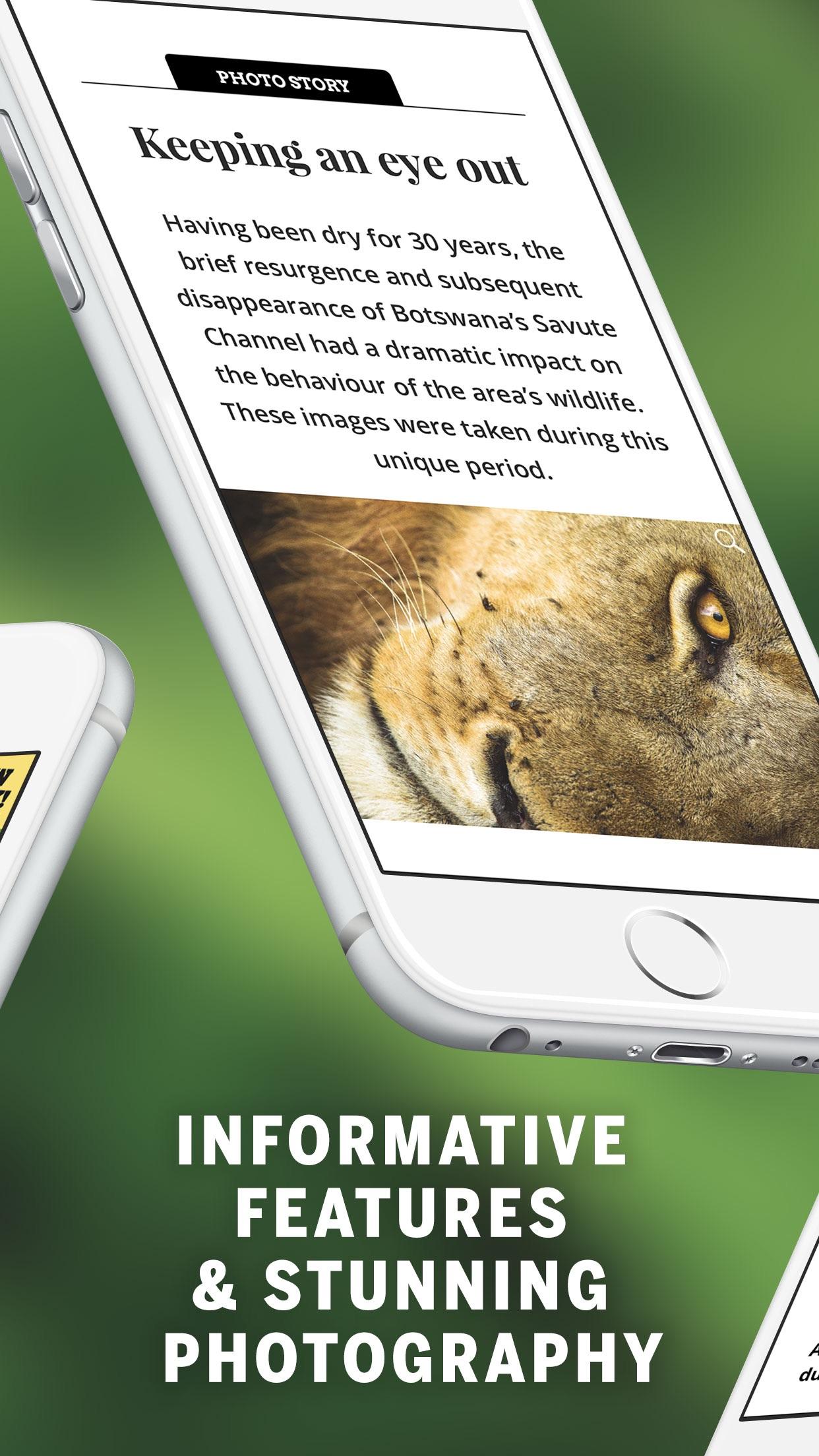 BBC Wildlife Magazine Screenshot