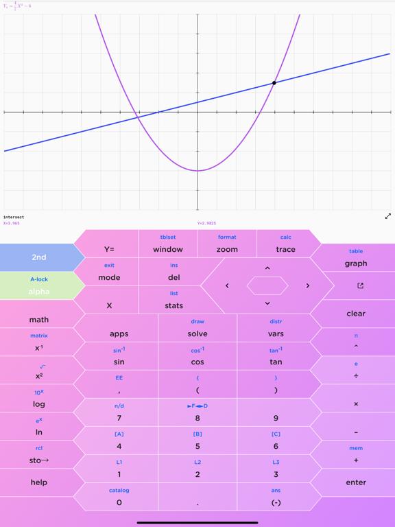 HyperCalc Graphing Calculator screenshot 8
