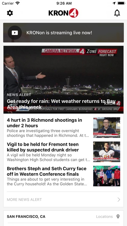 KRON4 News - San Francisco screenshot-0