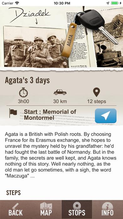 August 44 Falaise Gap Route screenshot three