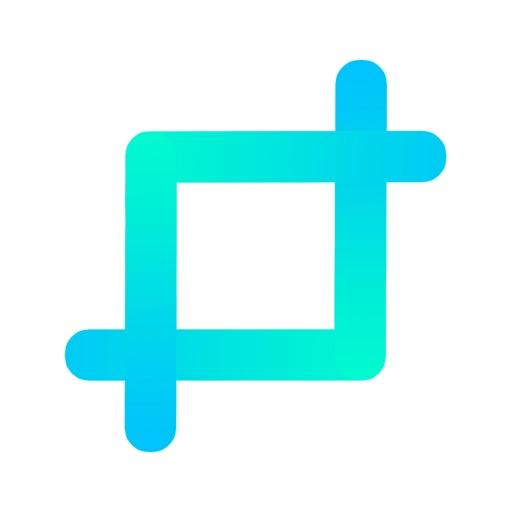 Resizable - Photo size icon