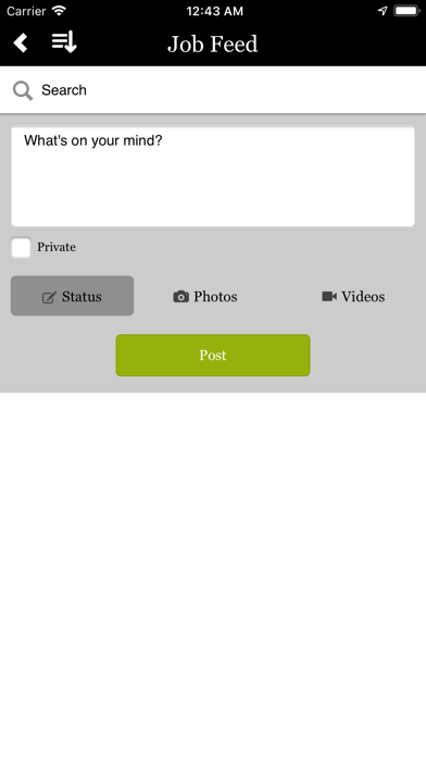 Rally Job Screenshot