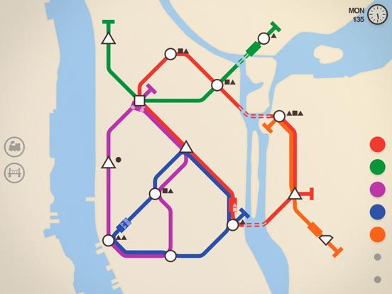 Mini Metro screenshot 1