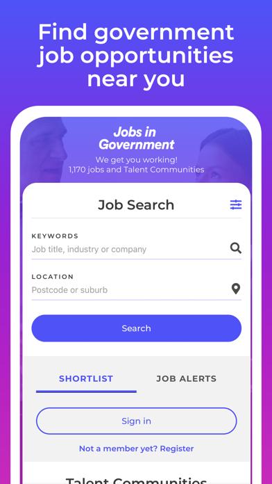 Government Jobs screenshot three