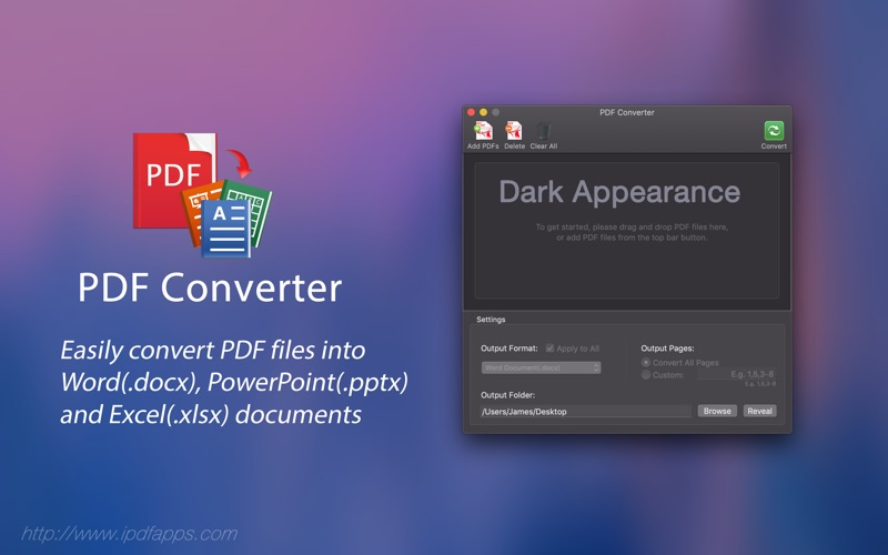 Quick PDF Converter for Mac