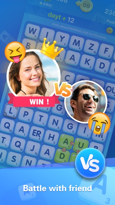 Word Crush - Social Game screenshot 3