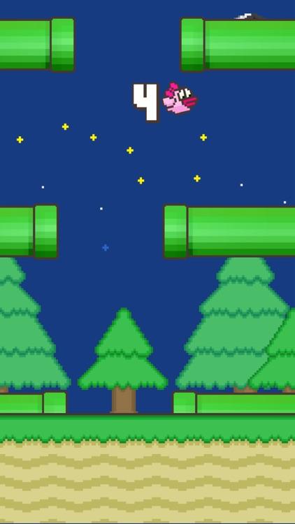 Flappy Family Bird Arcade screenshot-3