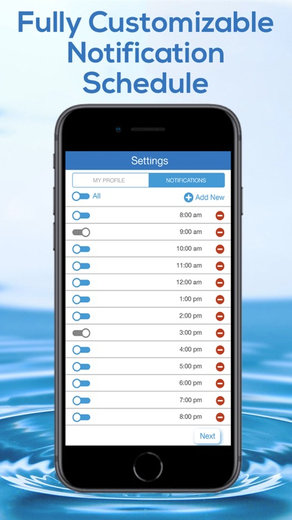Daily Water Tracker Reminder screenshot-4