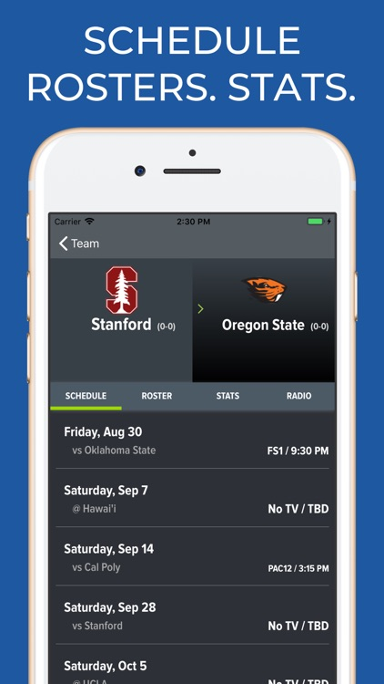 Stanford Football screenshot-8