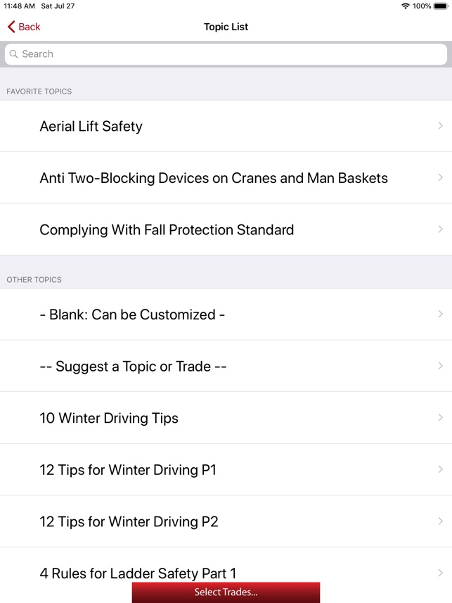 Safety Meeting App on the App Store