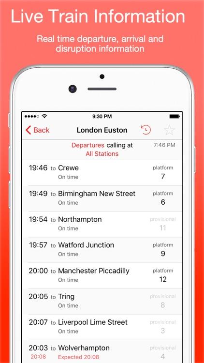 UK Live Trains