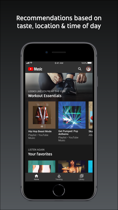 download YouTube Music apps 1