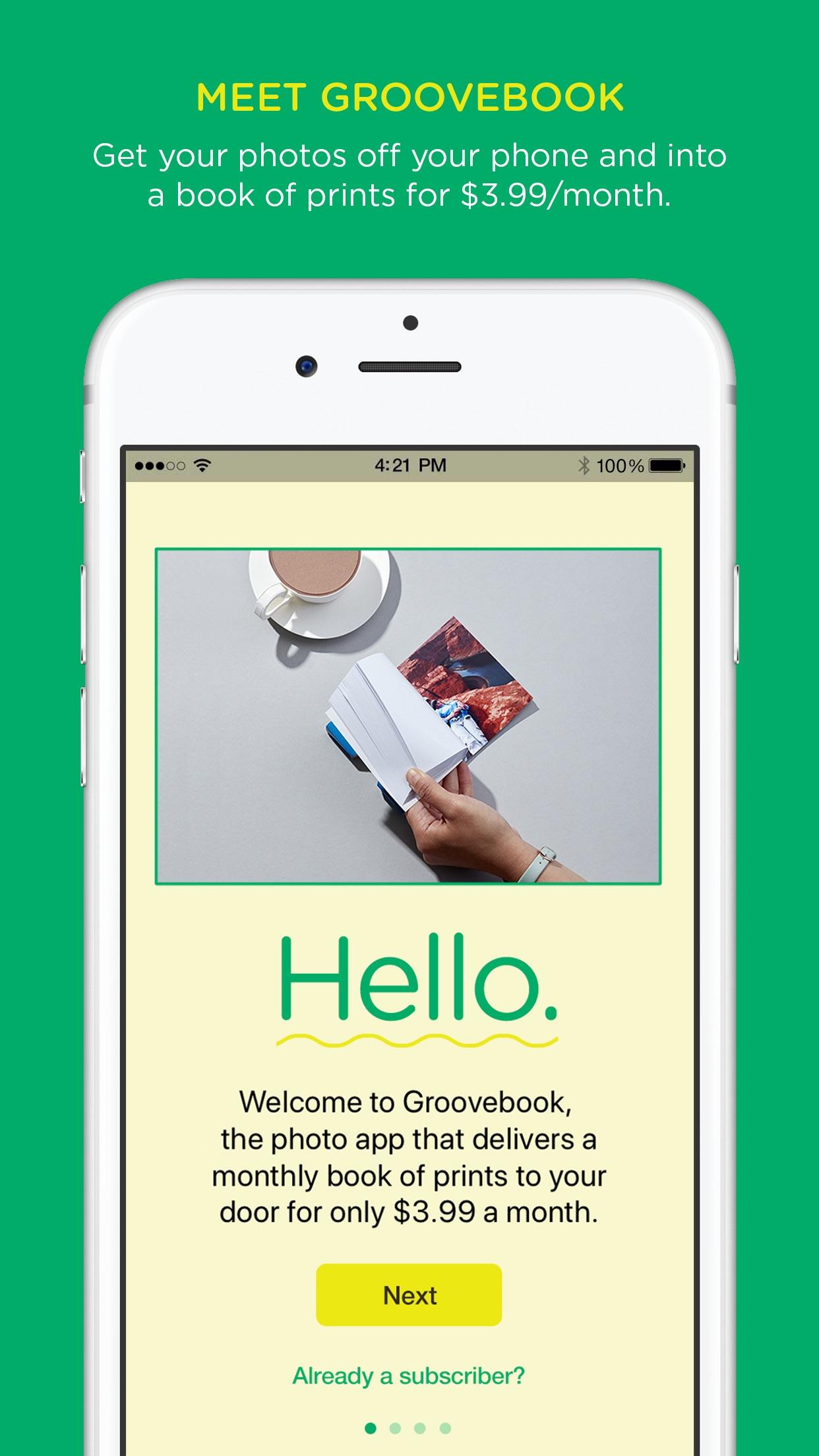 Groovebook: Book of Prints Screenshot