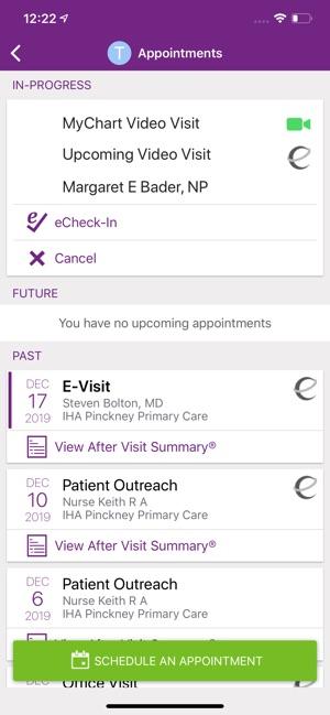 Trinity Health Mychart On The App Store
