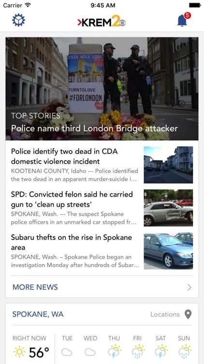 KREM 2 Spokane News