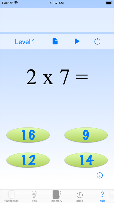 multiplication drills: X screenshot 8