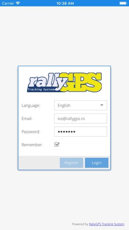 RallyGPS Manager