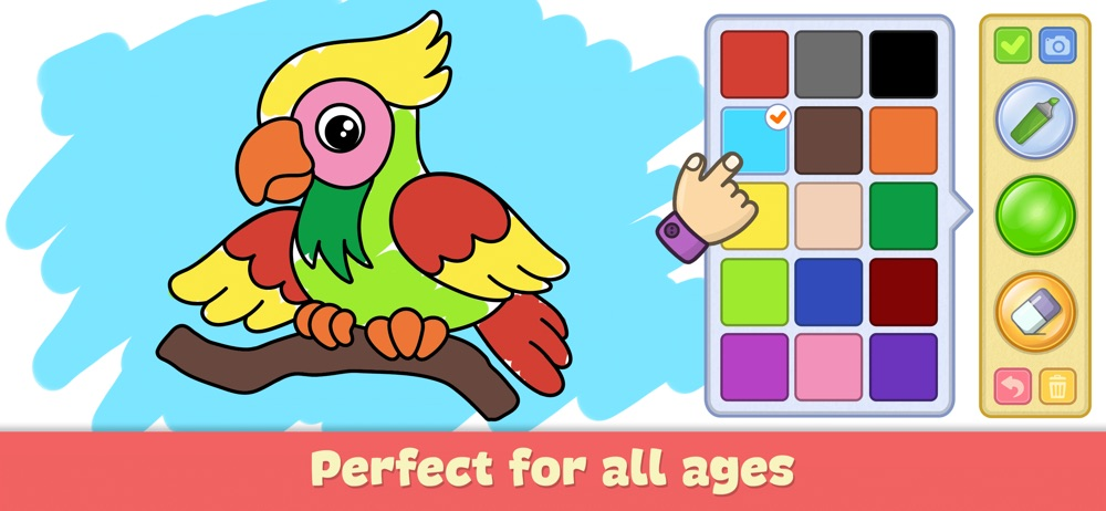 Drawing for kids: doodle games Cheat Codes