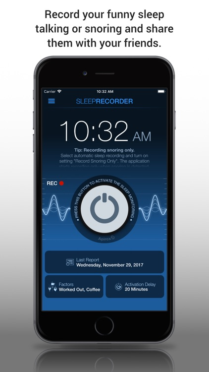 Prime Sleep Recorder